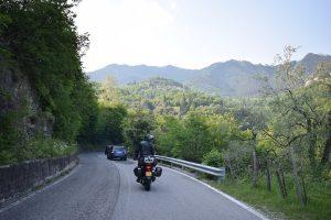 Suzuki dl650 vstrom Italië binnenland