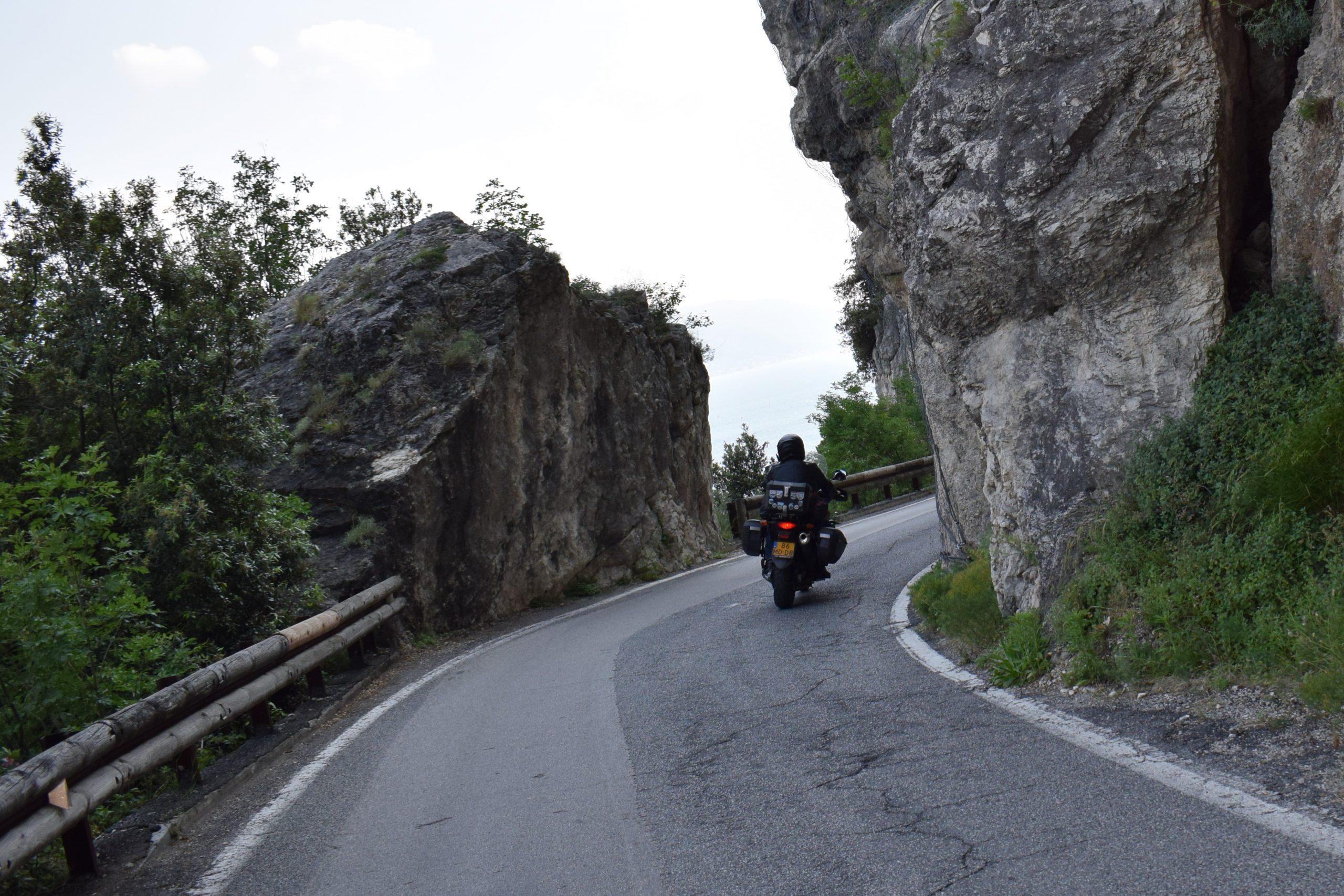 Binnenland Italië suzuki dl650 vstrom
