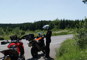 KTM 1090 Adventure sauerland duitsland ducati